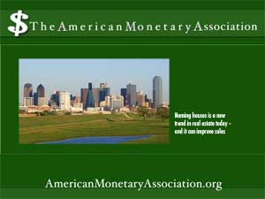 american monetary association logo and graphic